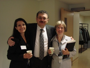 Maria, Dr. Danny Ghazarian and Diana