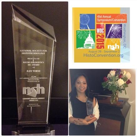 J.Torne NSH award
