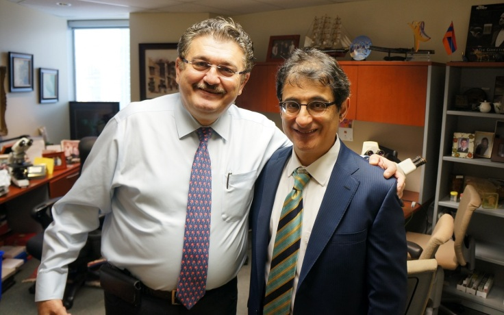 Dr. Ghazarian and Dr. Tahan